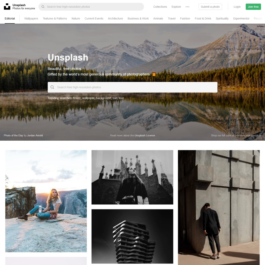 Favorite Unsplash Searches