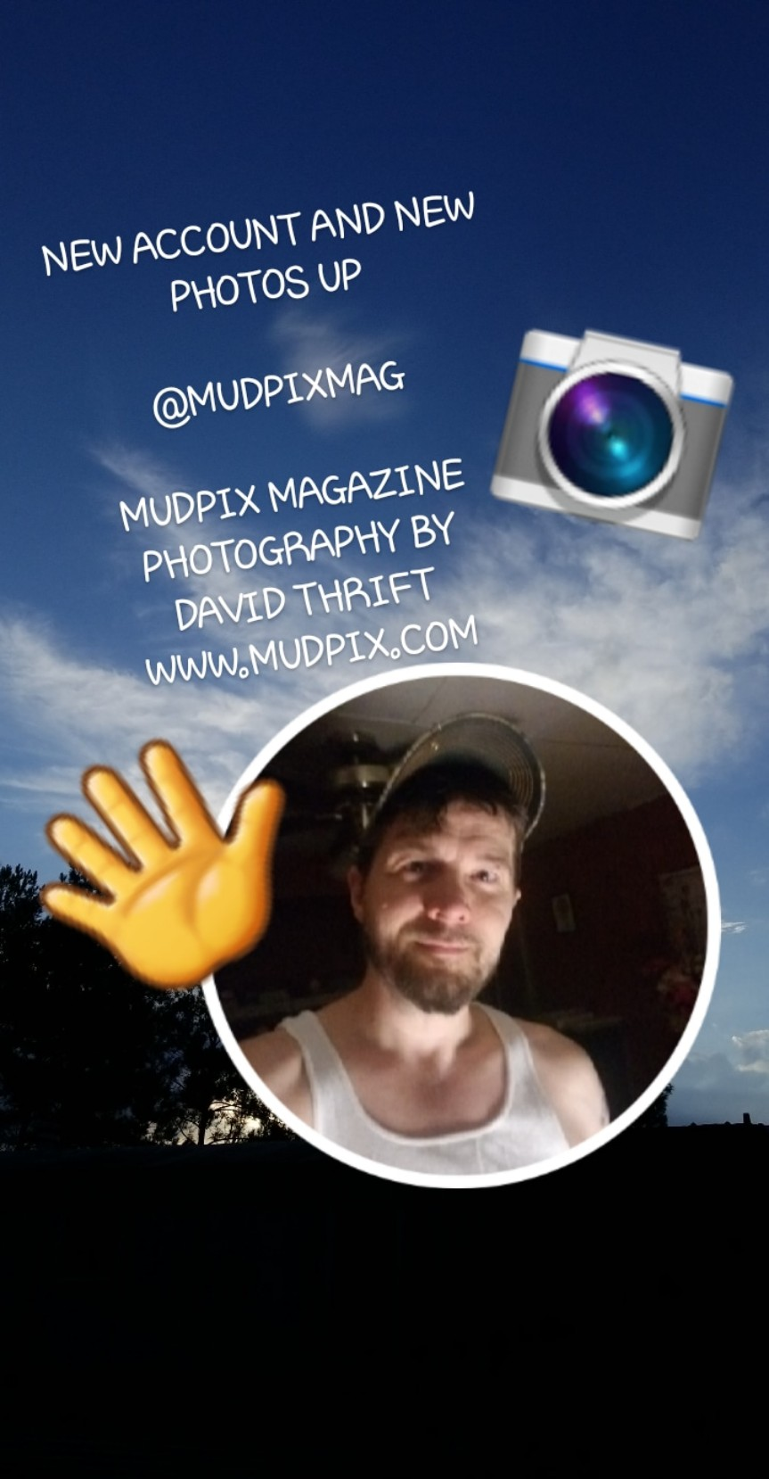 New Instagram Account For MUDPIX MAGAZINE