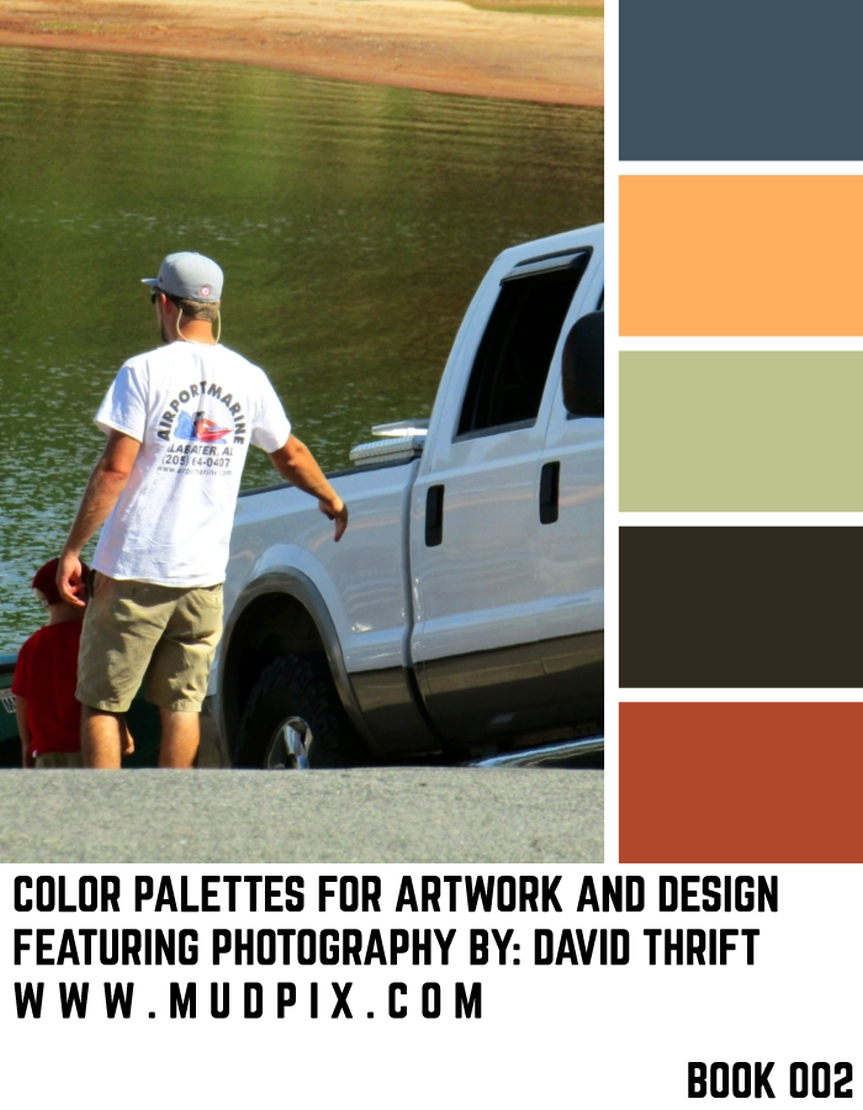 Color Palettes For Artwork And Design – Book 002
