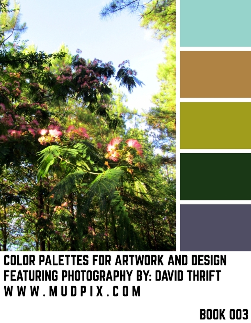 Color Palettes For Artwork And Design – Book 003
