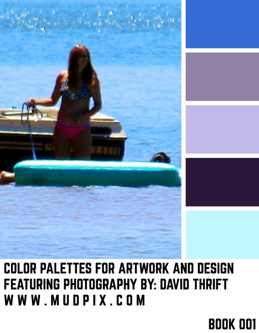 Color Palettes For Artwork And Design – Book 001