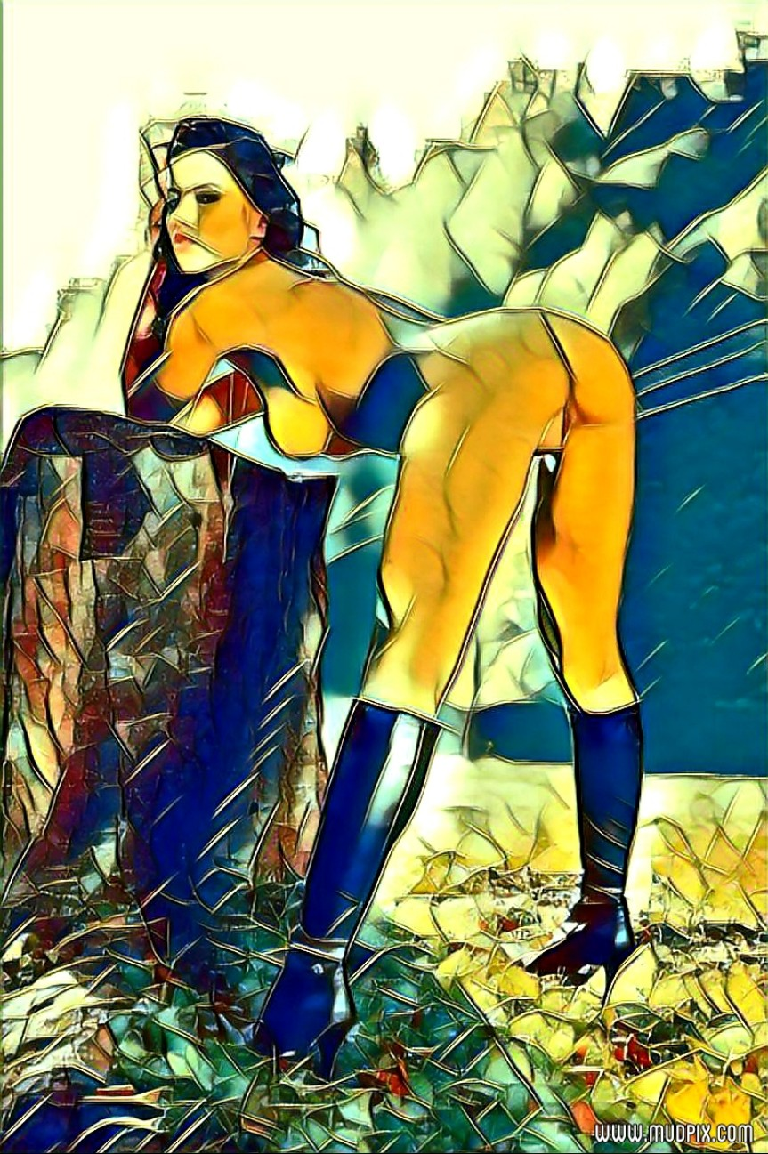 The Female Kind Digital Art Series #1